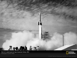 first-canaveral-launch-july-1950-first-rocket-sw